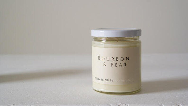 Bourbon & Pear Candle