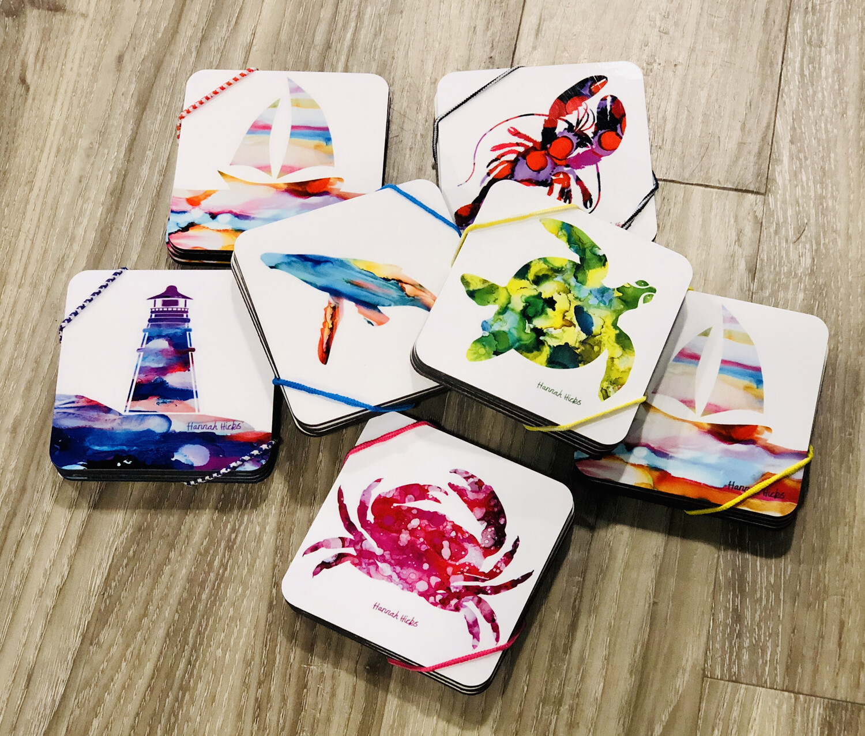Hannah Hicks Coaster Set