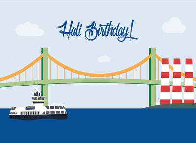 Hali Birthday! Card