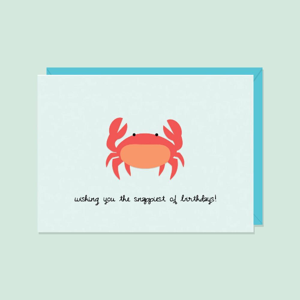 Snappiest Of Birthdays! Card