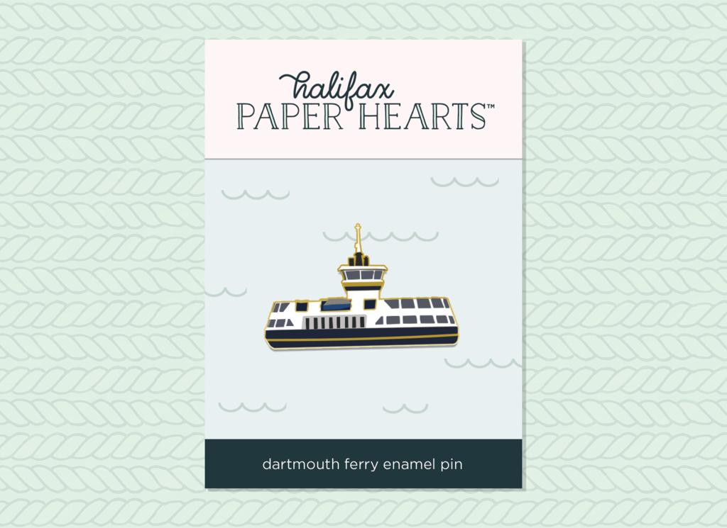 Dartmouth Ferry Enamel Pin