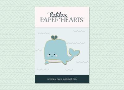 Whaley Cute Enamel Pin