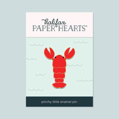 Pinchy Little Lobster Enamel Pin