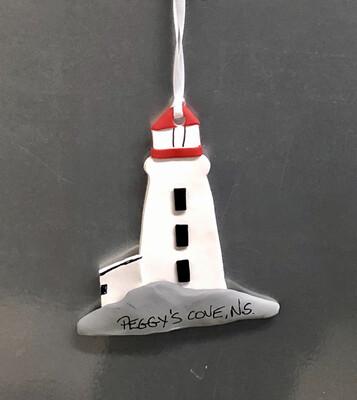 Roberta Lighthouse Ornament