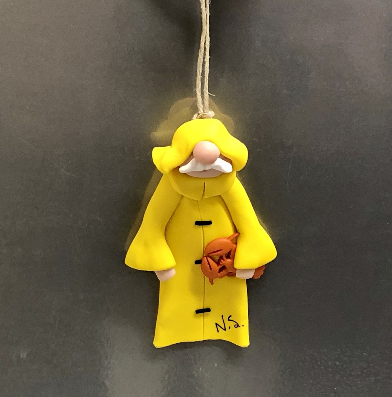 Roberta Fisherman Ornament