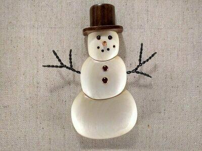 Arbour Snowman Ornament