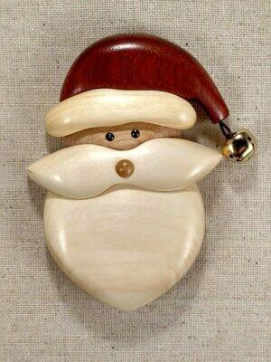 Arbour Santa Ornament