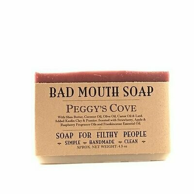 Peggy's Cove - Bad Mouth Soap