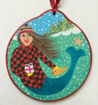Brunette Mermaid Krooked