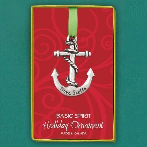 Nova Scotia Anchor Ornament