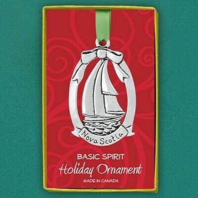 Nova Scotia Schooner Ornament