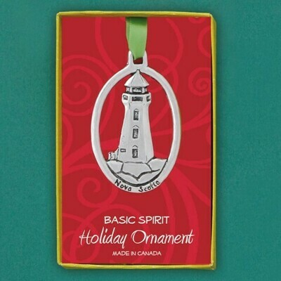 Nova Scotia Lighthouse Ornament