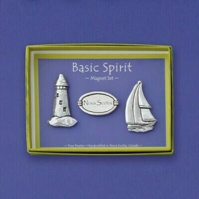 Nova Scotia Magnet Set Basic Spirit