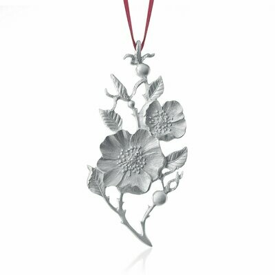 Amos Wild Rose Ornament