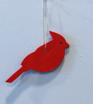 Jerry Walsh Ornament Cardinal