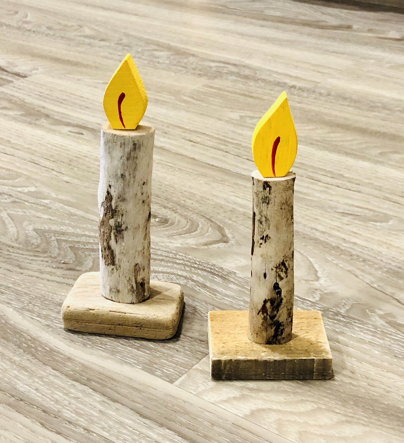Jerry Walsh Single Candle Flame