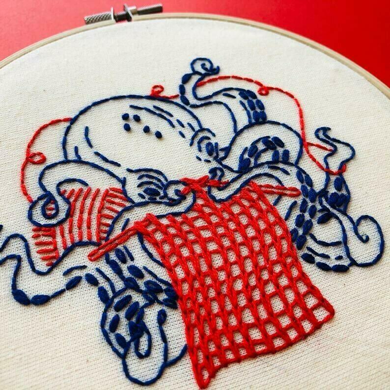Hook Line & Tinker Industrious Octopus