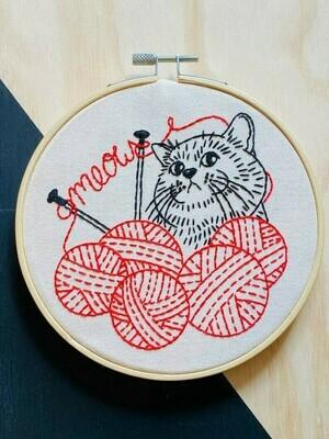 Hook Line & Tinker Knittin Kitten
