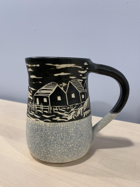 Crackle Peggy's Cove Mug