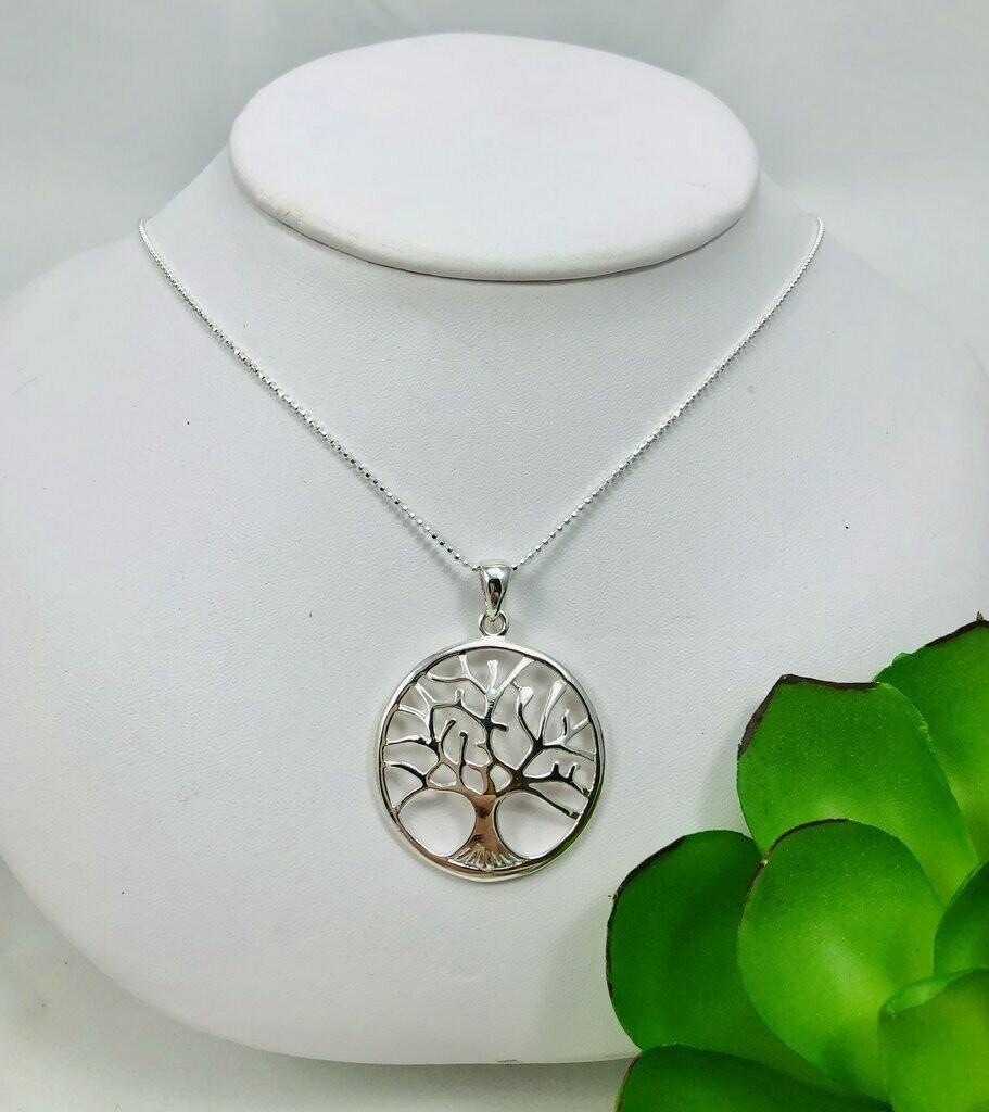 Tree of Life Necklace - Shy Giraffe