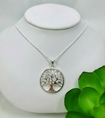 Tree of Life Necklace - Shy Giraffe