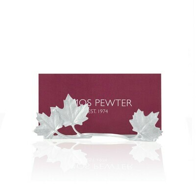 Amos Maple Leaves Business Card Holder
