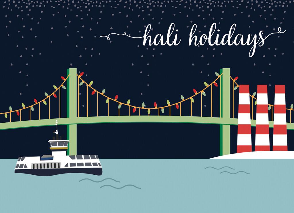 Hali Holidays Card