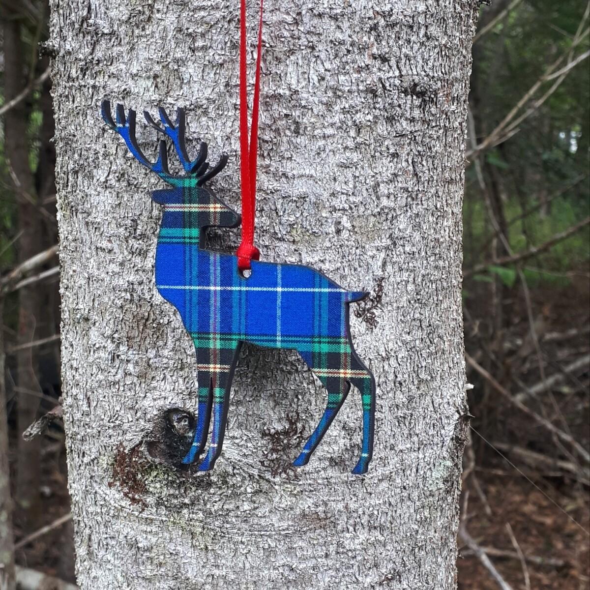 Salt Air Reindeer Ornament