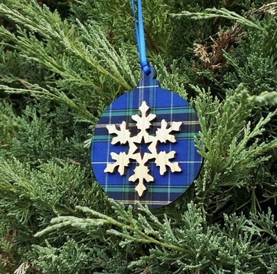 Salt Air Bulb Vintage Snowflake