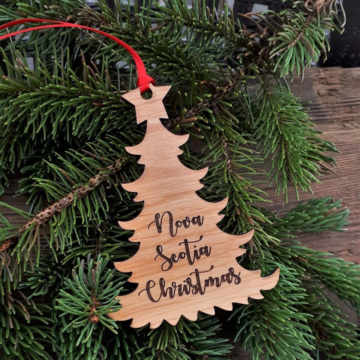 Salt Air NS Christmas Tree Ornament