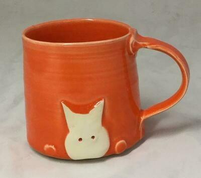Orange Cat Mug GA