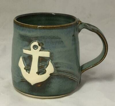 Denim Anchor Mug GA