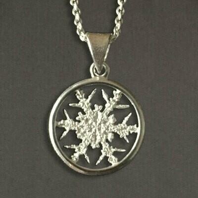 Snowflake Pendant #2 - Allyson Simmie