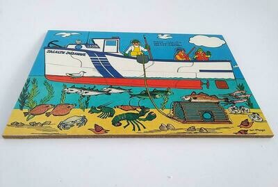 Lobster Fishing Boat Puzzle