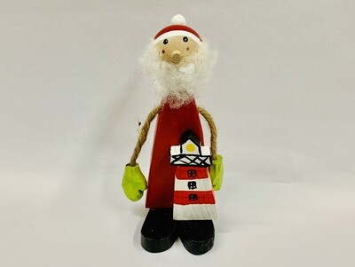 Timberdoodle Seaside Santa- Lighthouse