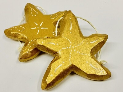 Timberdoodle Sea Star- Gold