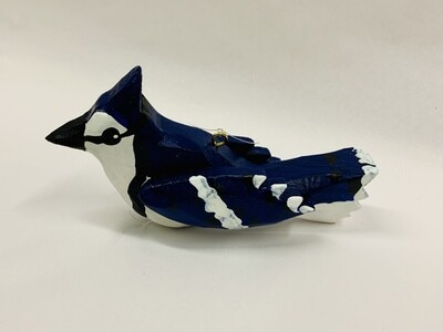 Timberdoodle Ornament- Blue Jay