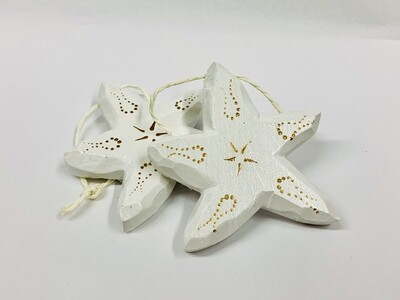 Timberdoodle Sea Star- White