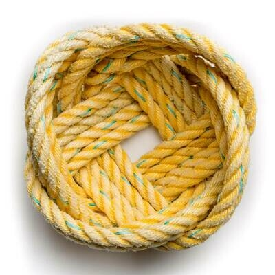 Small Lobster Rope Bowl, Yellow - All for Knot