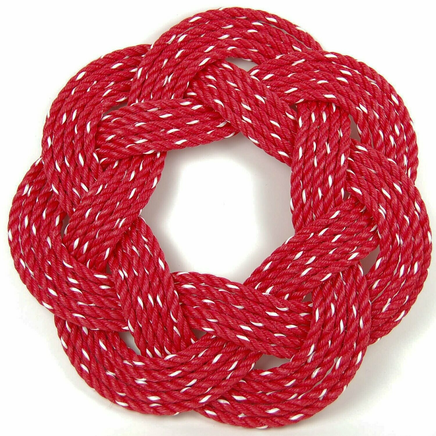 "Lobster Rope Wreath 16"", Red - All for Knot"