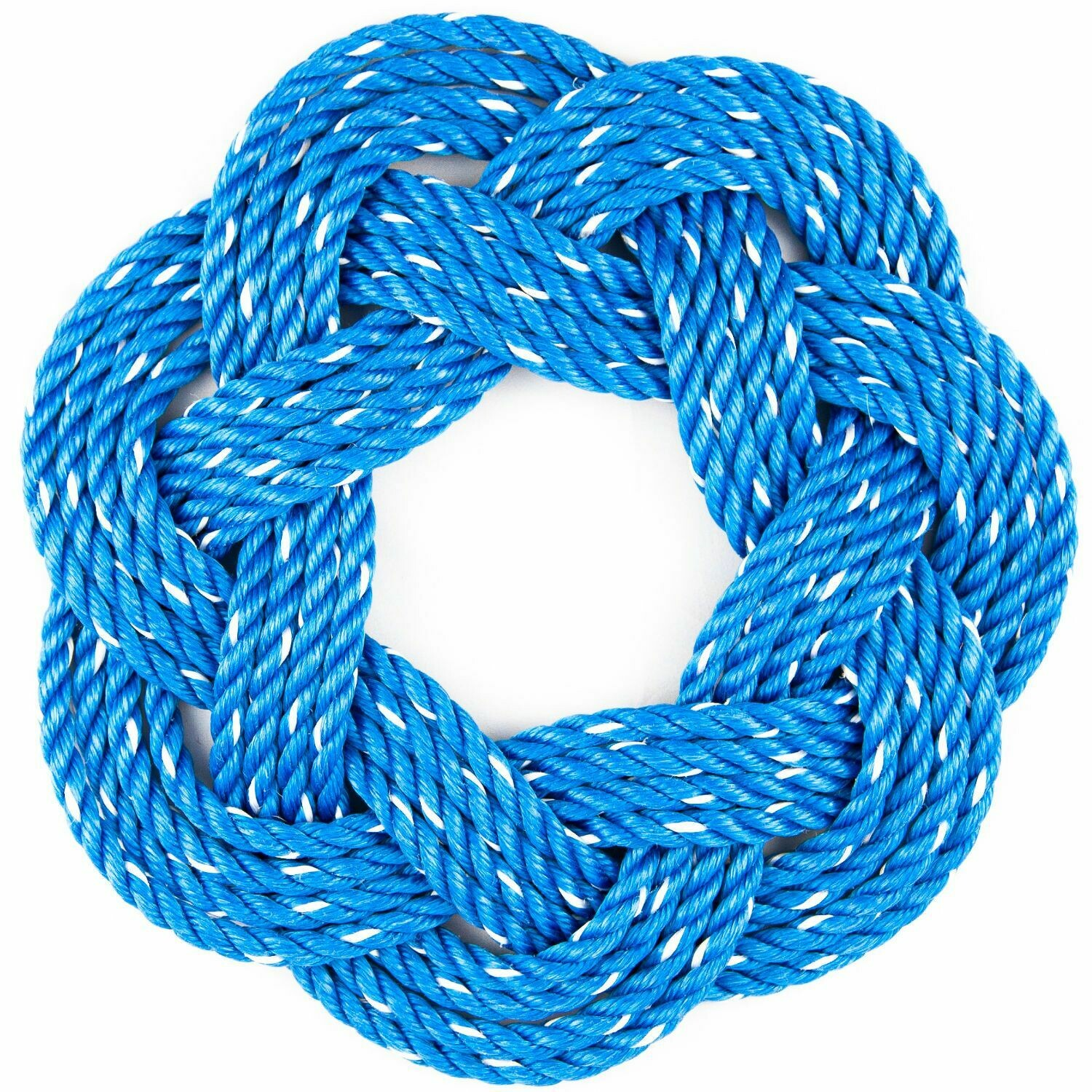 "Lobster Rope Wreath 13"", Blue - All for Knot"