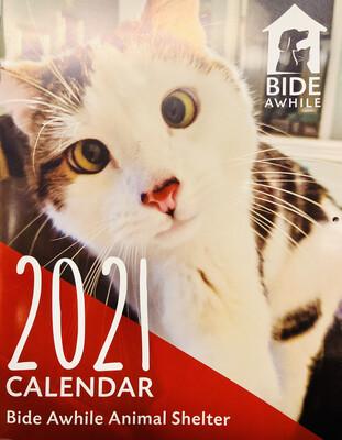 Bide Awhile Calendar 2021
