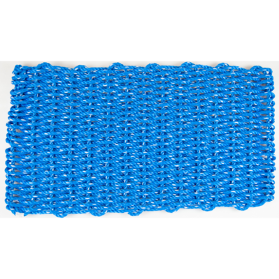 Lobster Rope Mat 18x36, Blue - All for Knot
