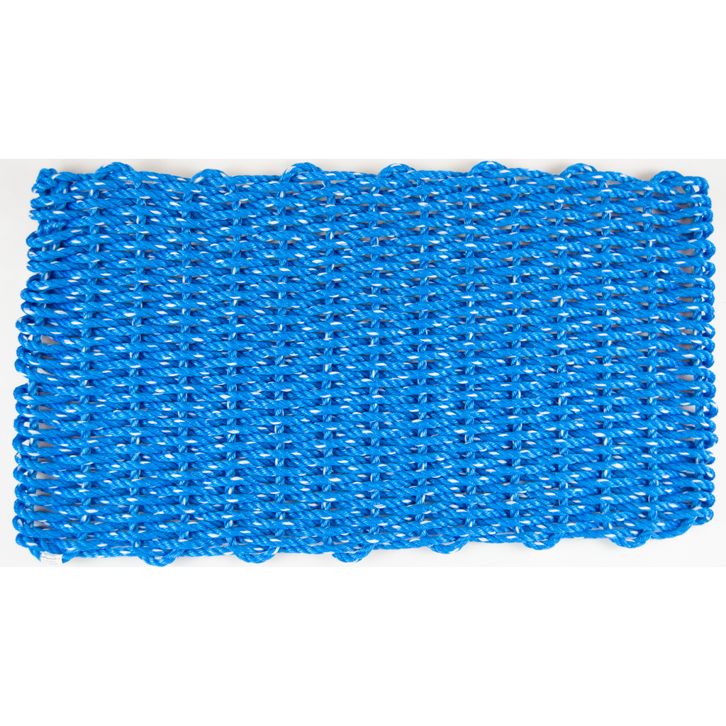 Lobster Rope Mat 18x28, Blue - All for Knot