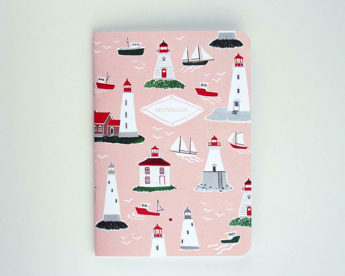 Kat Frick Miller Notebook- Lighthouse
