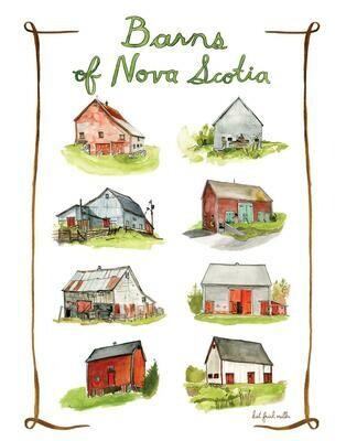 Kat Frick Miller Print- Barns of Nova Scotia