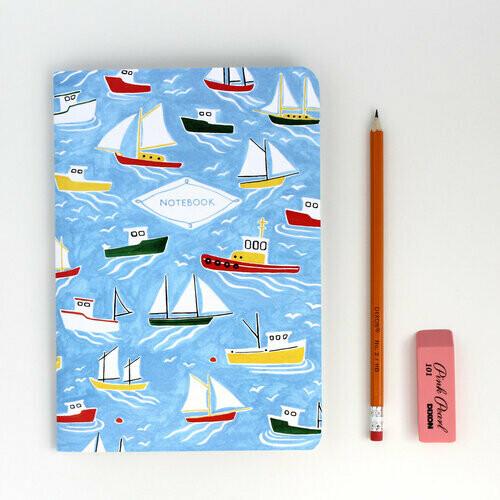 Kat Frick Miller Notebook- Boats