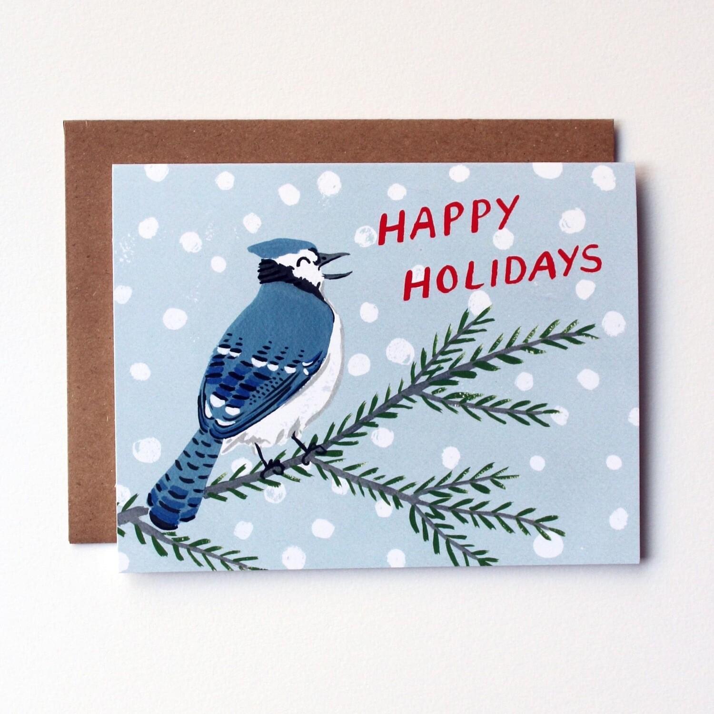 Kat Frick Miller Card- Happy Holidays