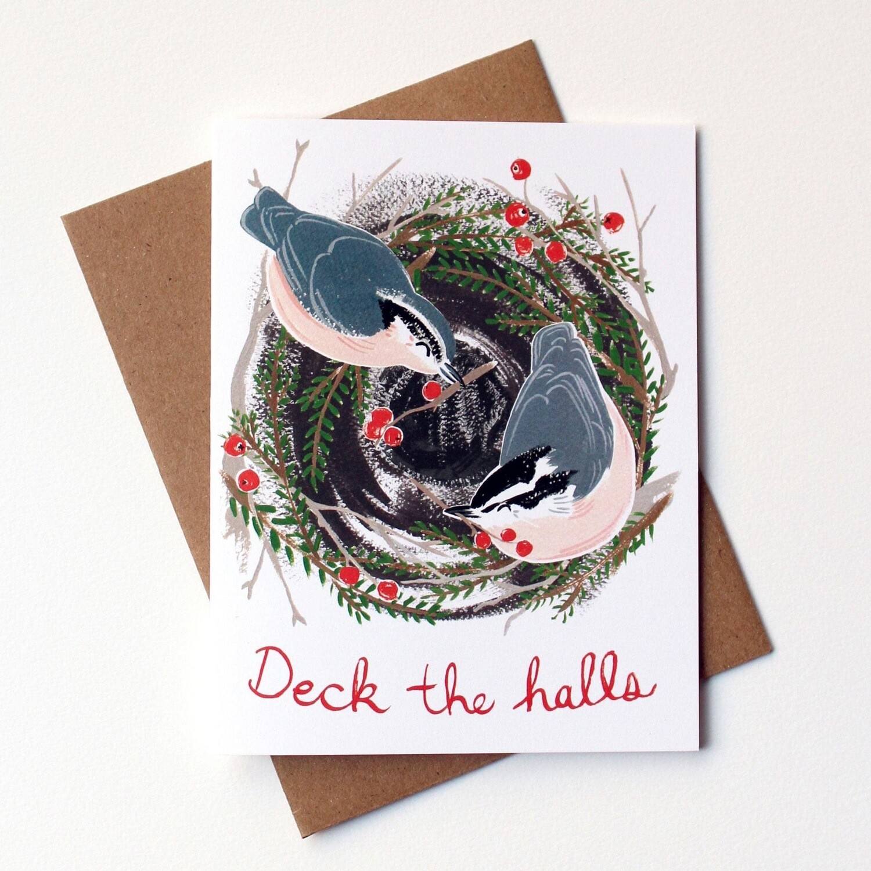 Kat Frick Miller Card- Deck The Halls