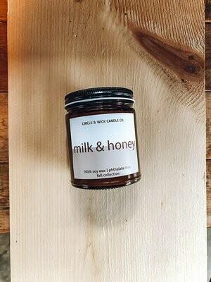 Circle & Wick Milk & Honey Candle